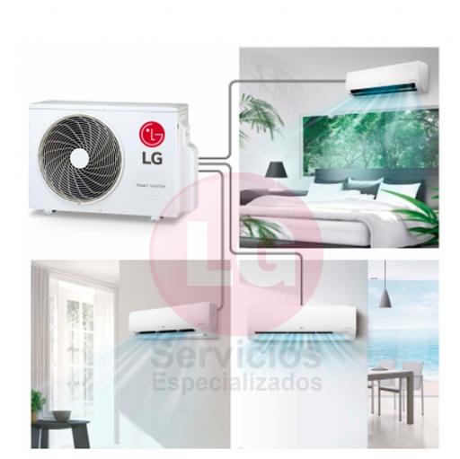 LG MU3R19 + PC009SQ + PC18SQ CONFORT CONNECT - Aire acondicionado 2X1 [2]