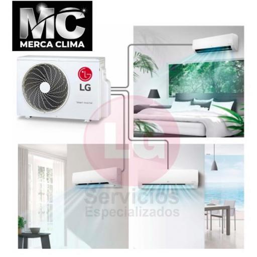 LG MU3R21 + P C09 SQ + PC 09 SQ + PC 12 SQ CONFORT CONNECT - Aire acondicionado 3X1 [1]