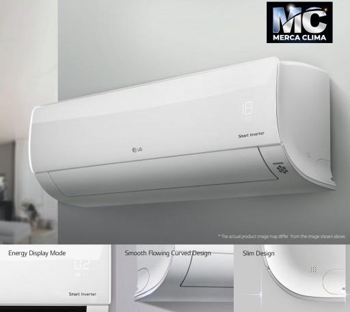 Aire acondicionado Split 1x1 Inverter LG CONFORT 12 WIFI+ instalación CERTIFICADA [1]