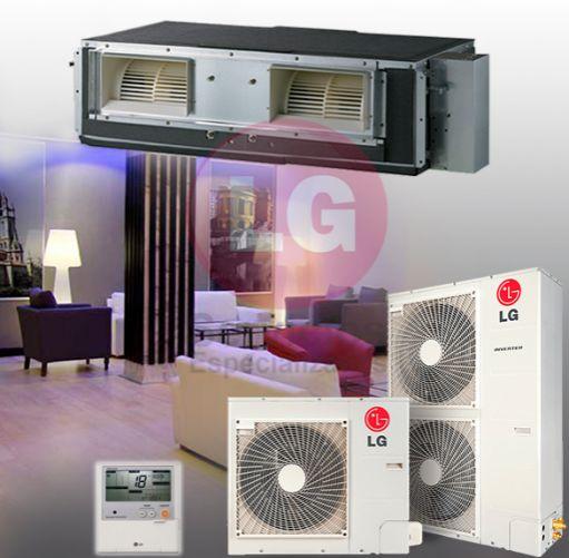 LG UM42R + UU42WR Aire Acondicionado Conductos [1]