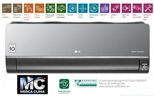 Artcool Mirror Wifi R32 AC09BQ.SSJ split aire