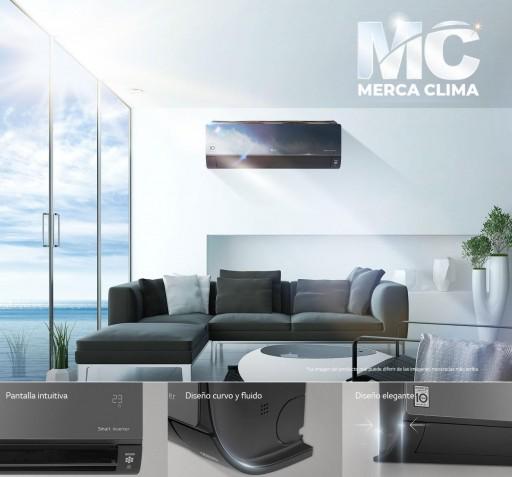 Aire Acondicionado Crystal Mirror LG AM09BP wifi [3]