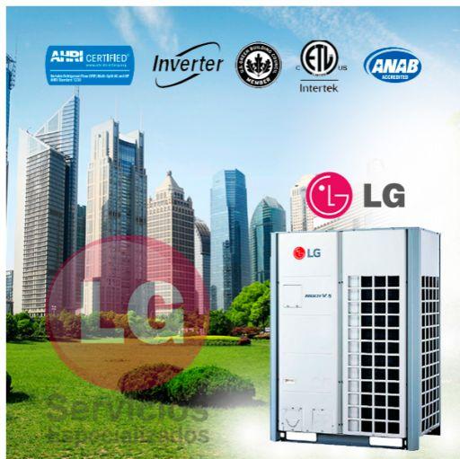 LG UM42R + UU42WR Aire Acondicionado Conductos [2]