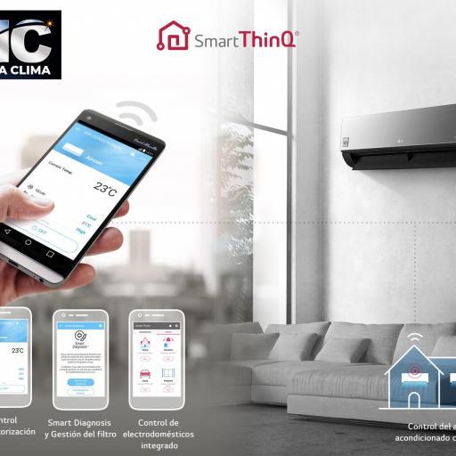 LG 3X1 Confort Connect WiFi 3X1 PC09SQ + PC09SQ + PC18SQ + MU4R25 [2]
