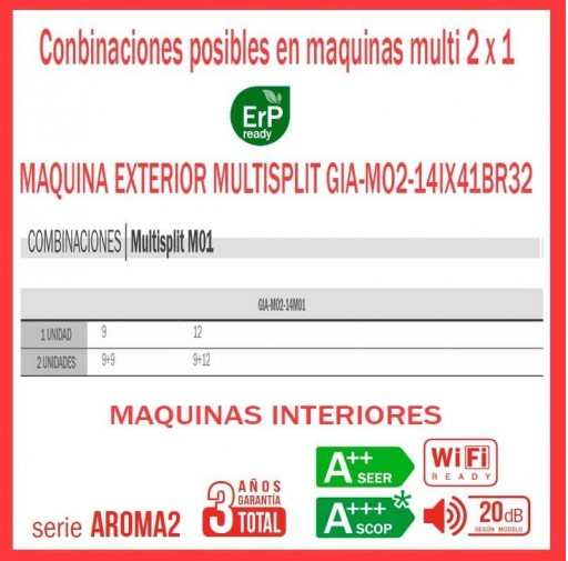 AIRE ACONDICIONADO 2x1 GIATSU GIA-MO2-14IX41BR32+012AR2R32+09AR2R32 WIFI [1]