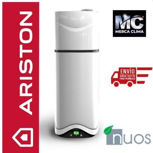 Bomba de calor para ACS Ariston NUOS EVO A+ 110 [1]