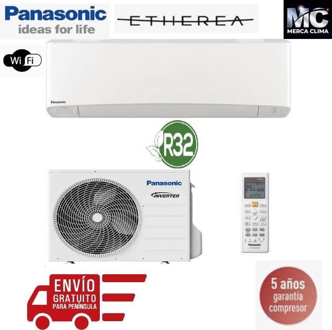 Panasonic KIT-Z35-VKE Etherea blanco mate 1x1 wifi i