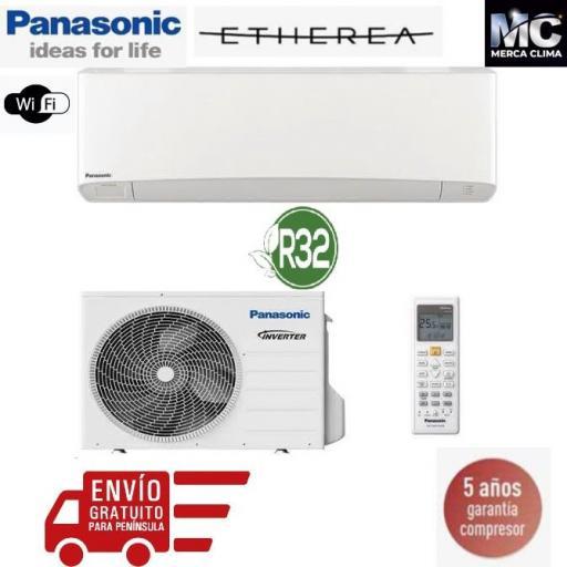 Panasonic KIT-Z42-VKE Etherea blanco mate 1x1