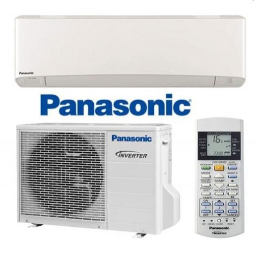 Aire Acondicionado Panasonic Etherea Split KIT-E9-SKEW Blanco