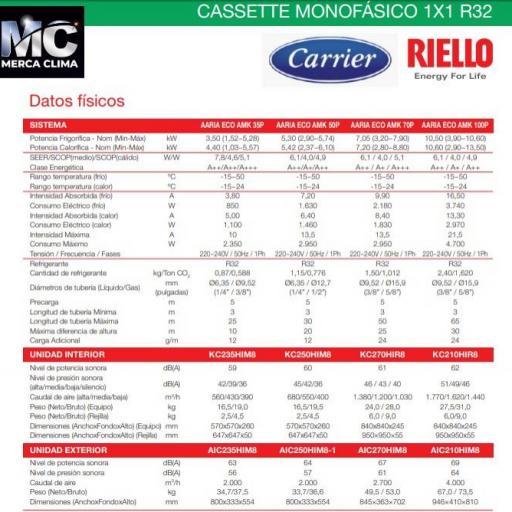 Aire Cassette RIELLO AARIA ECO AMK 70P [2]