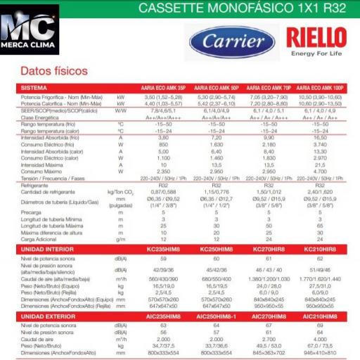 Aire Cassette RIELLO AARIA ECO AMK 100P [1]
