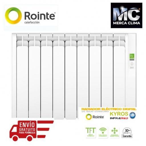 ROINTE KYROS 1210 W RADIADOR ELECTRICO - 11 ELEMENTOS