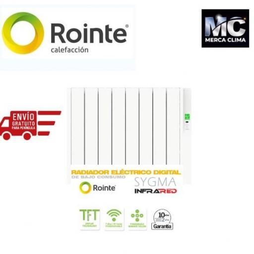 ROINTE SYGMA 880 W - 8 Elementos