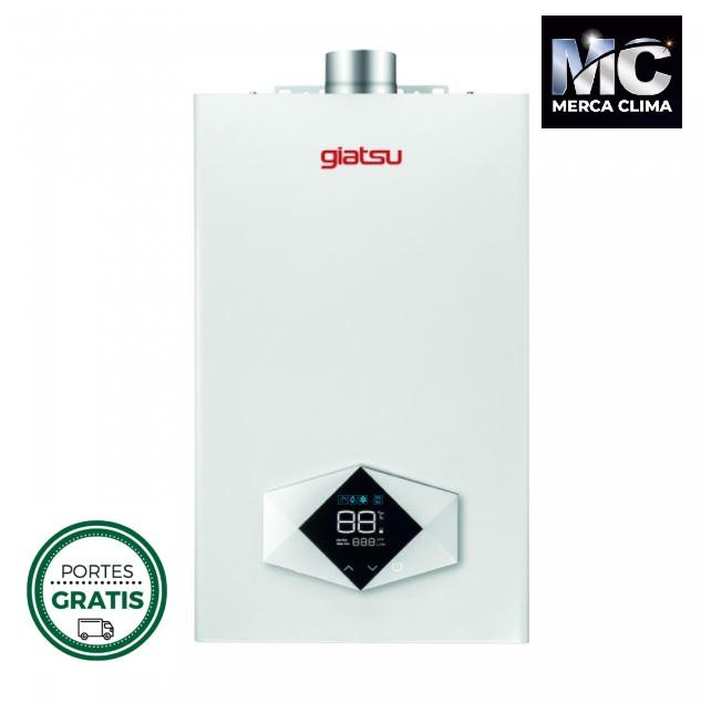 CALENTADOR ESTANCO ROMBO 12 LITROS A GAS BY GIATSU NATURAL