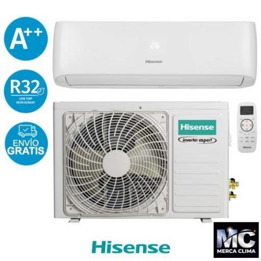 Hisense DJ35VE0B Aire Acondicionado 1x1 wifi