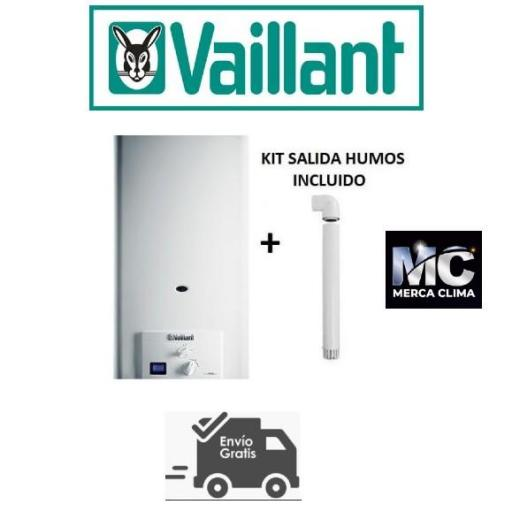 Calentador Vaillant Turbomag Pro 125/1 3 R Gas Natural [1]