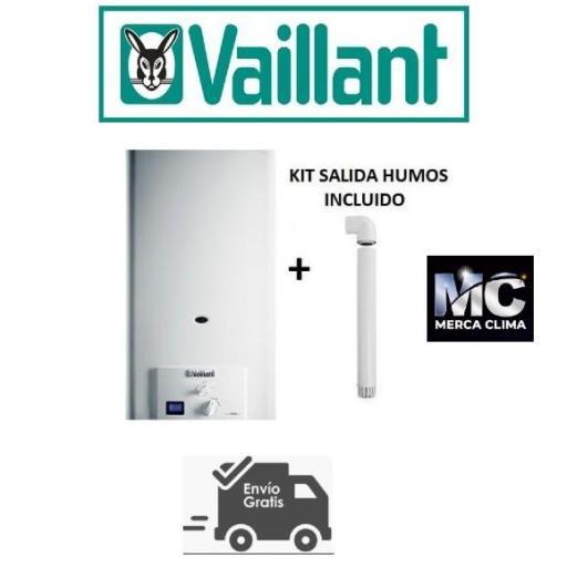 Calentador Vaillant Turbomag Pro 125/1 3 R Gas Butano [1]