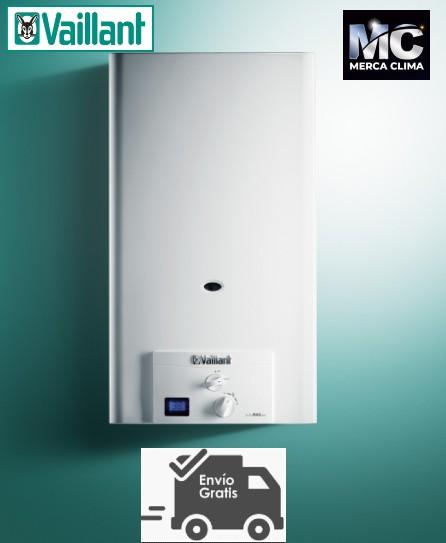 Calentador Vaillant Turbomag Pro 125/1 3 R Gas Natural