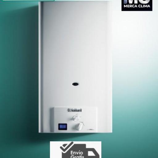 Calentador Vaillant Turbomag Pro 125/1 3 R Gas Butano