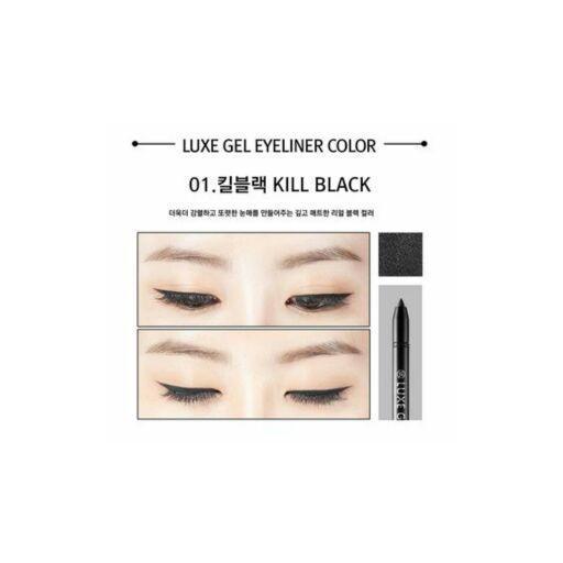 Luxe Gel Eyeliner (#1 Kill Black) Negro [2]
