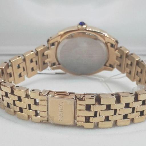 Reloj Seiko Colección Mujer SRZ428P1 Chapado Oro [2]