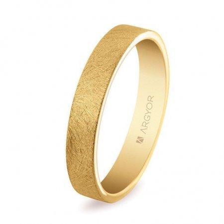 Alianza de boda clásica plana de oro de 18K modelo 5140150H ¡Ven A Por Ella!