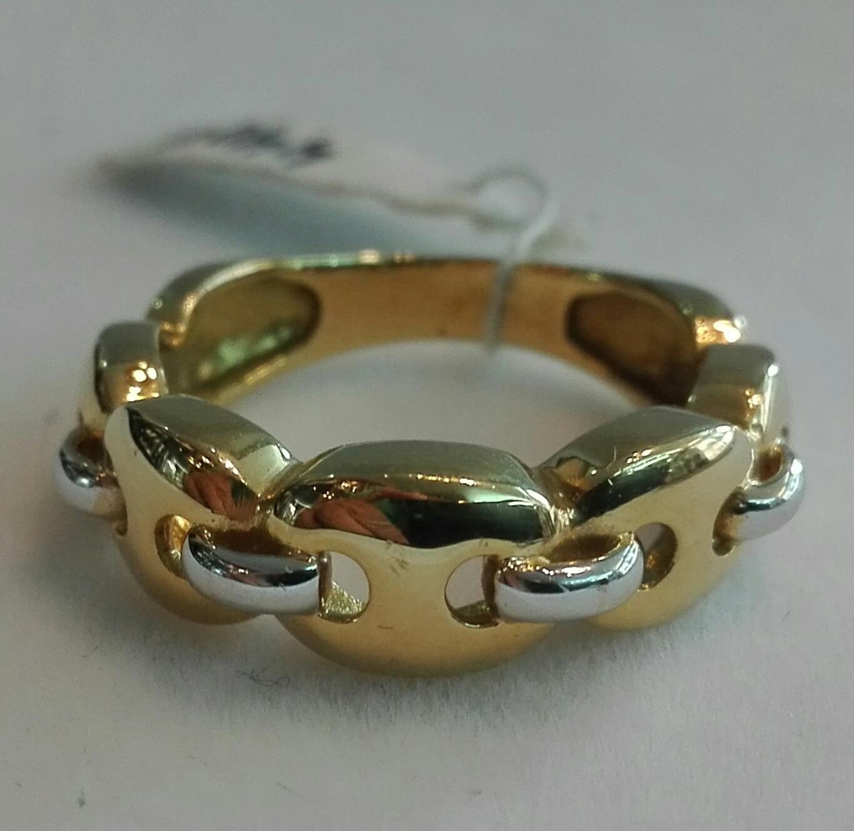 Anillo De Oro 18 Quilates Precioso Diseño
