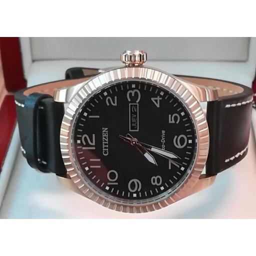Reloj Citizen Dorado Hombre BM8533-13E