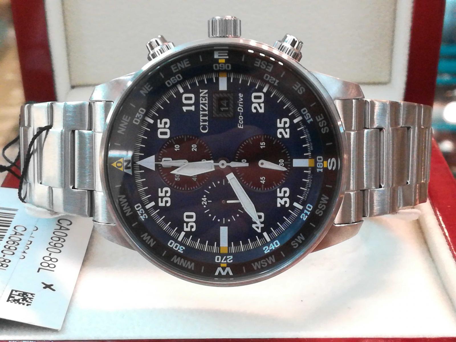 Citizen Aviator Eco Drive CA0690-88L