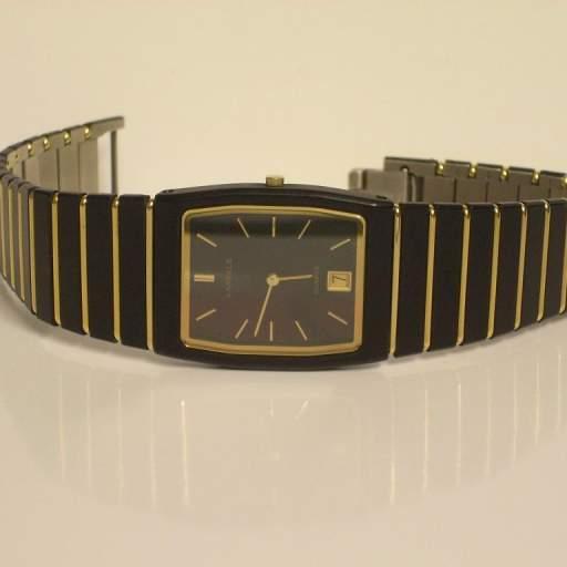 Reloj Seiko Lassale Caballero Caja y Pulsera de Cerámica