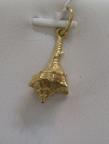 Precioso Colgante Cañailla en Oro de 18 Kts