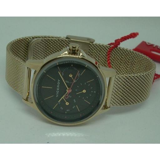 Reloj Viceroy Mujer Dorado Malla Milanesa 461102-97 [0]