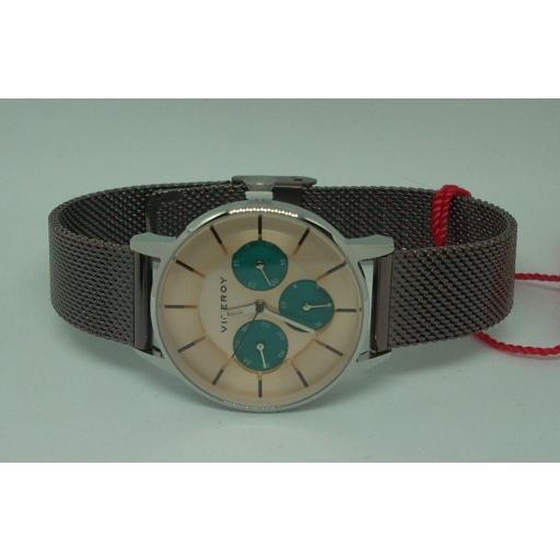 Reloj Viceroy Mujer Correa Malla Milanesa Multifuncion 471200-97 [0]