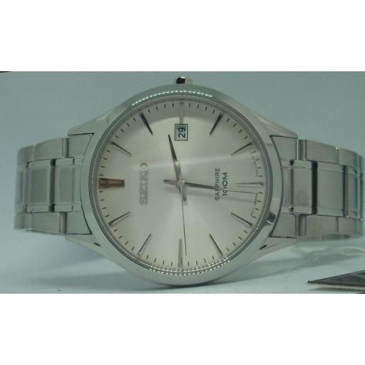 Reloj Seiko Hombre Cristal Zafiro Acero SGEG93P1