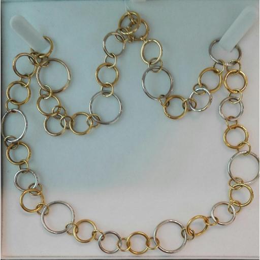 ¡Llévate Este Original Collar Oro De 18 Kilates Mujer Muy Barato! [2]