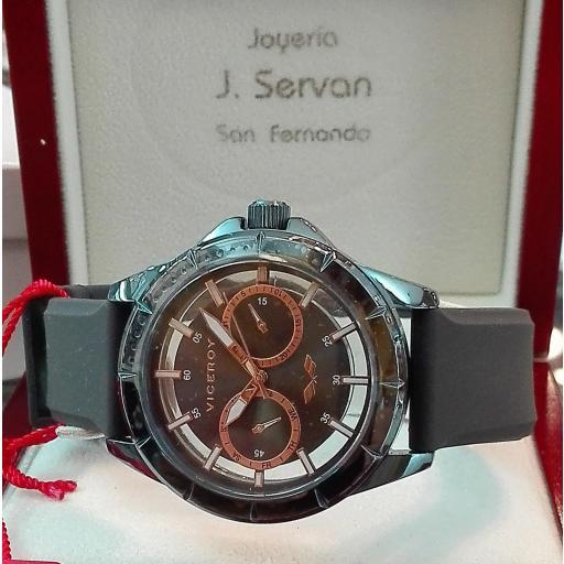 Reloj Caballero Viceroy Antonio Banderas Correa Silicona  401049-19