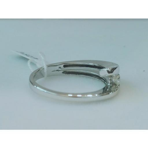 Anillo Diamantes Modelo Solitario Ideal Para Boda En Oferta [1]