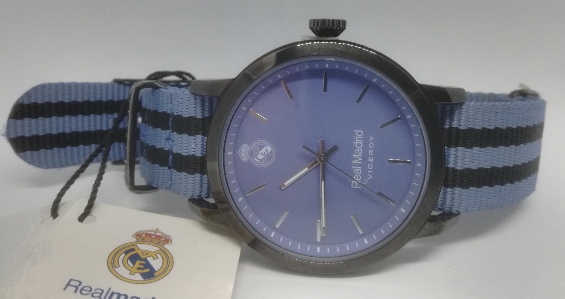 Reloj Real Madrid Hombre Modelo Oficial De Viceroy 40969-39