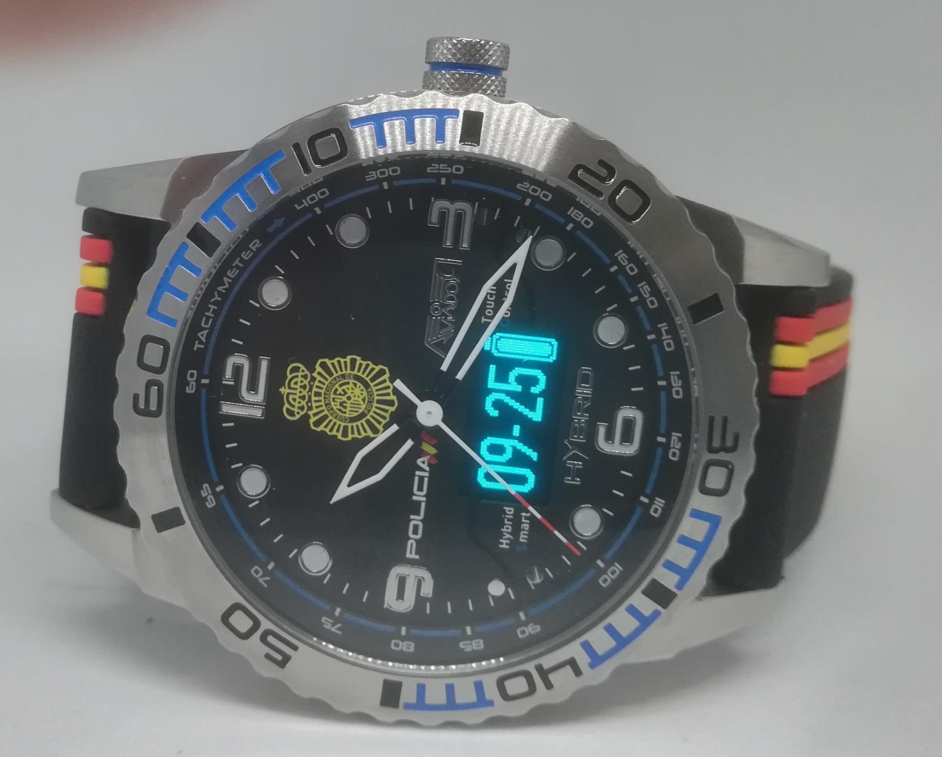 Reloj Cuerpo Nacional De Policia Aviador Smart Time