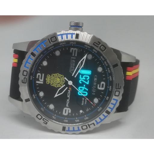 Reloj Cuerpo Nacional De Policia Aviador Smart Time [0]