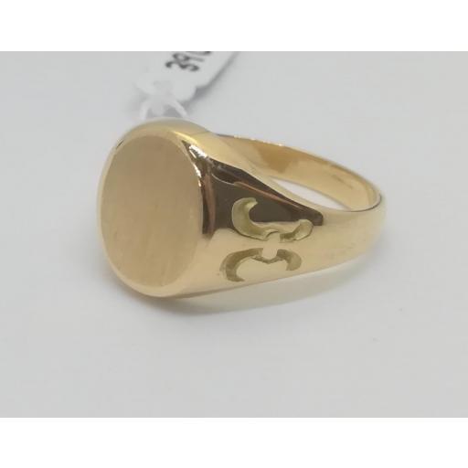 Sello Oro Comunion Ovalado Labrado [1]
