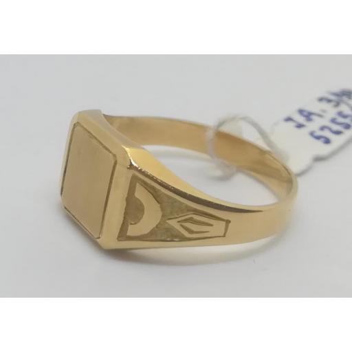 Sello Oro Comunion Cuadrado Pequeño [1]