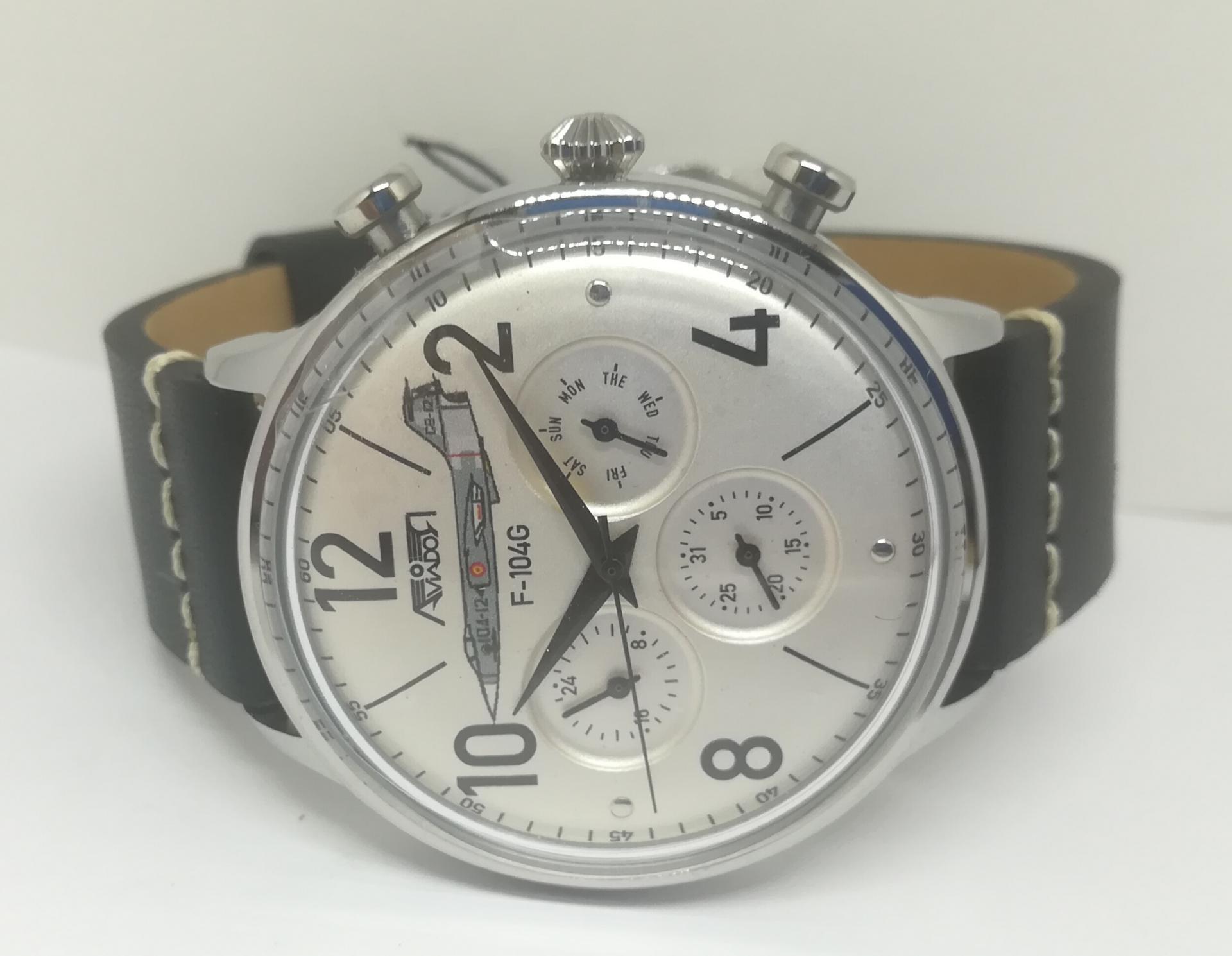 Reloj Militar Español Aviador Escuadrón F104