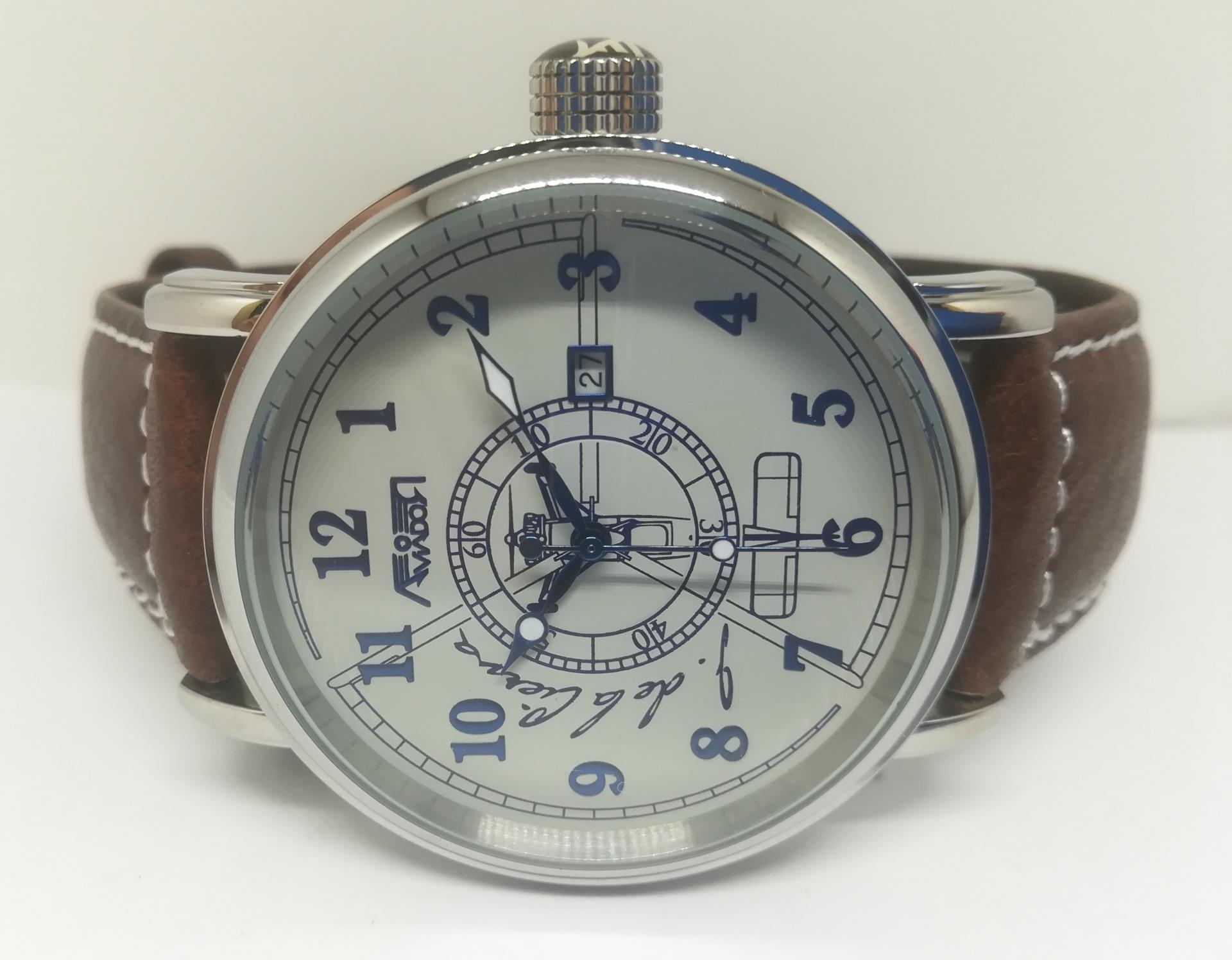 Reloj Aviador Edicion Especial Juan De La Cierva AV-1067-1
