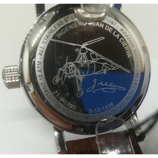 Reloj Aviador Edicion Especial Juan De La Cierva AV-1067-1 [3]