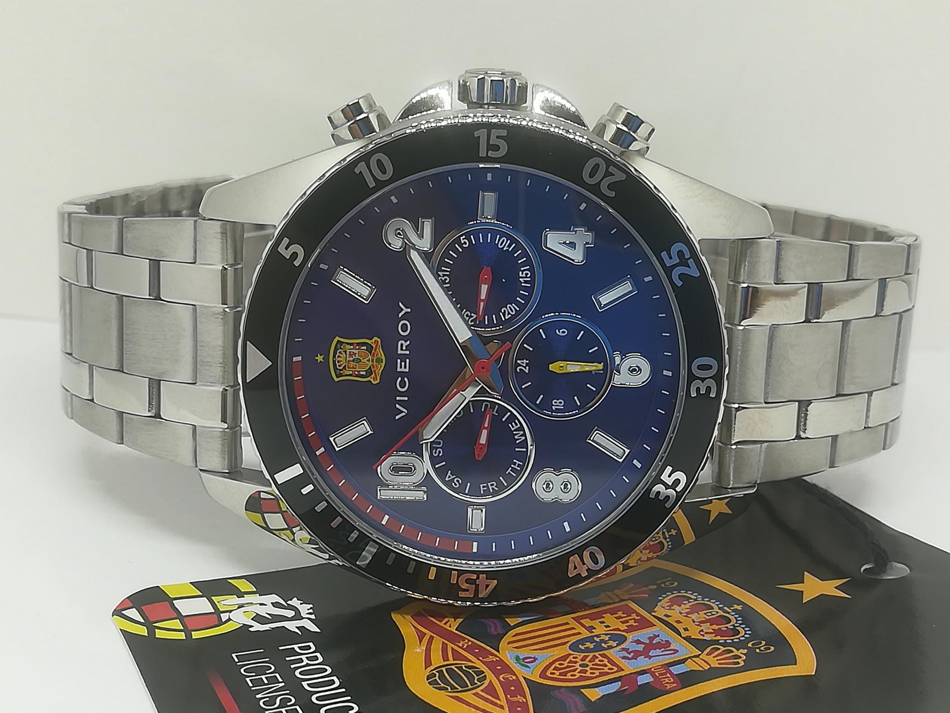 Reloj Viceroy Seleccion Española 42341-35 Oficial De Hombre