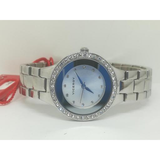 Reloj Viceroy Mujer Acero Con Circonitas 471038-13
