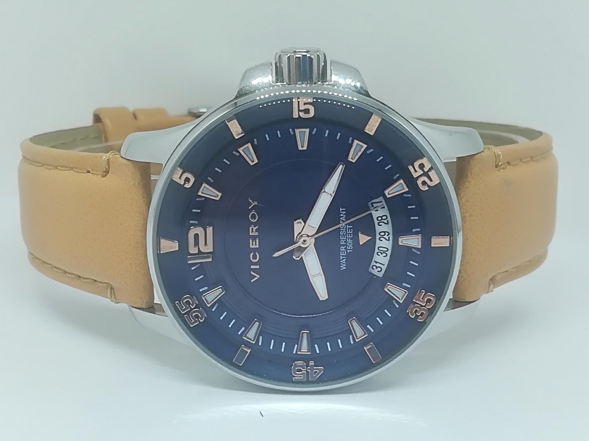 Reloj De La Última Colección VICEROY MUJER Con Correa Piel 42216-35 ¡Llévatelo!