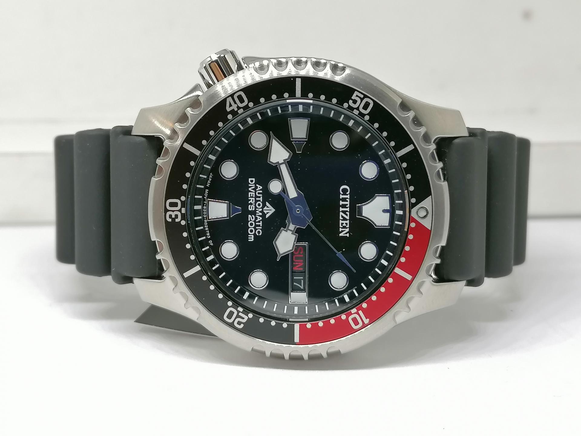 Reloj Citizen Aqualand Promaster Automatico Para Hombre NY0085-19E
