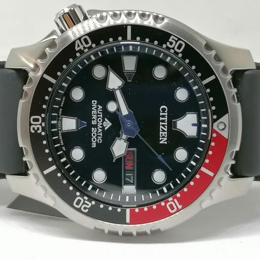 Reloj Citizen Automatico Para Hombre Promaster Aqualand NY0085-19E